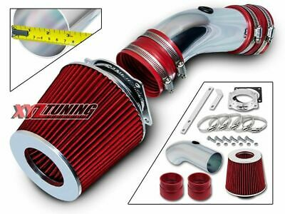 RED Short Ram Air Intake Induction Kit +Filter For 92-95 Grand Marquis 4.6L V8