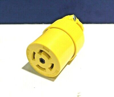 PASS & SEYMOUR NEW TURNLOK 4 Pole 5 Wire L2230C 30A L22-30 CONNECTOR Grounding