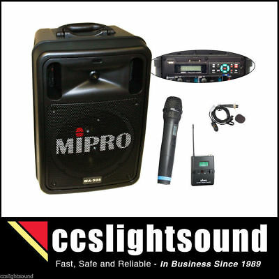 Mipro Ma505 R2Dpm3 Battery Portable Wireless Pa With Bluetooth And Recorder