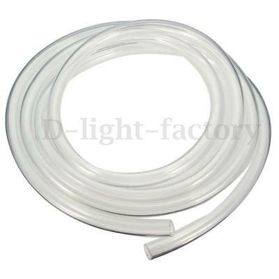 2M Approx 9.5x12.7mm 2M Transparent Computer PC Water Cooling Soft PVC Tube  Tw
