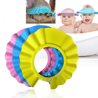 2X Baby Kid Toddlers Hair Wash Cap Hat Shampoo Bath Bathing Shower Shield Guard