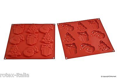 Stampo biscotti natale silicone Silikomart my christmas cookies HSH 02 A - Rotex
