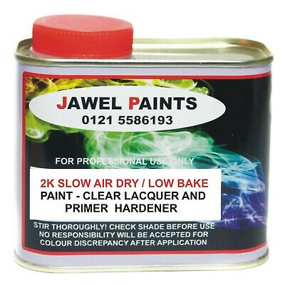 2K Hardener / Activator Jawel Fast air dry 500ml For SATIN Paint & Clear Lacquer