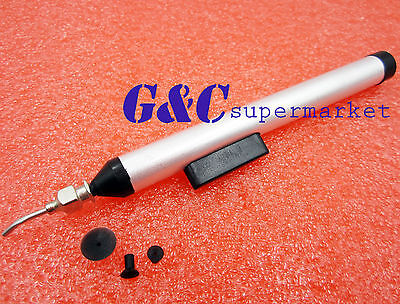 L7 Pen IC SMD Easy Pick Picker Tool Vacuum Sucking 3 Suction Headers