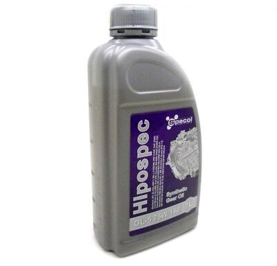 1L Synthetic Gear Differential Oil Limited Slip Lsd Fluid 75W140 Gl-5