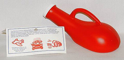 Little John Portable Urinal Spill Proof Lid Odorless ~ Made In The USA