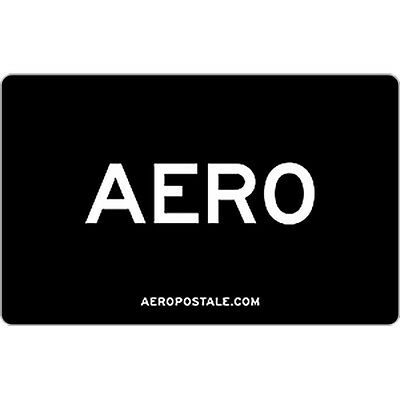 $25 / $50 Aeropostale Physical Gift Card - Standard 1st Class Mail Delivery
