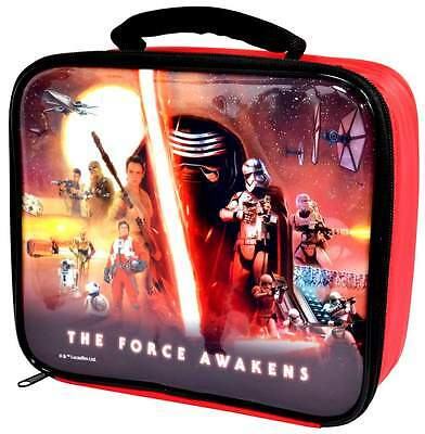 Star Wars 'The Force Awakens' Lunch Bag/Box | Episode 7 | Kylo Ren | Rey | Finn