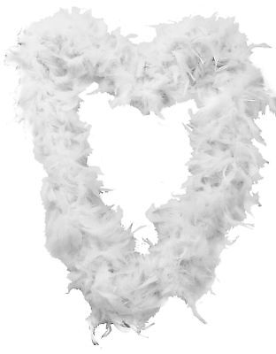 High Quality Thick White feather boa party fancy dress Luxury burlesque Fun