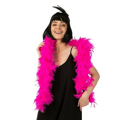 High Quality Thick Pink feather boa party fancy dress Luxury burlesque 200cm