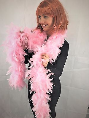 High Quality Thick Baby Pink feather boa party fancy dress Luxury burlesque Fun