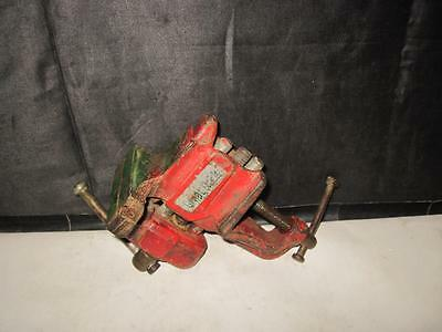 """Vintage 3"""" Jaw Table Mount or Bench Mount Small Vice/Anvil Jewelers/Crafts 4lbs"""