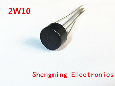 100pcs 2W10 2A 1000V Bridge Rectifier