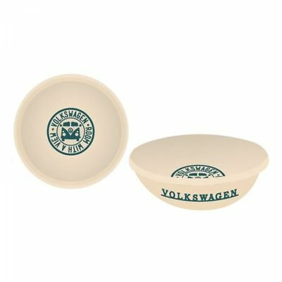 """Official VW Licensed Enamel Bowl """"A room With A View"""" Logo Volkswagen Camper"""