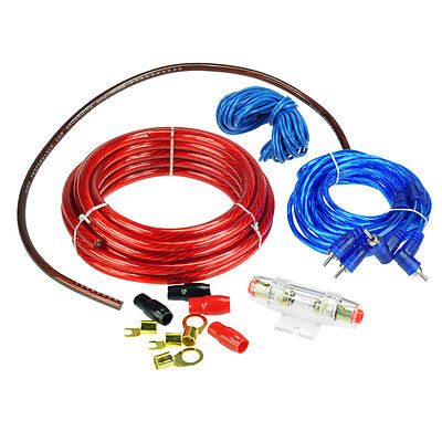 High Quality YH-168 car amplifier Wiring Kit Power Sets of Lines 2000W