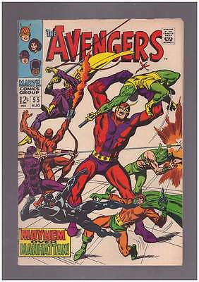 Avengers # 55  First Full Appearance Ultron grade 6.5 movie scarce hot book !!
