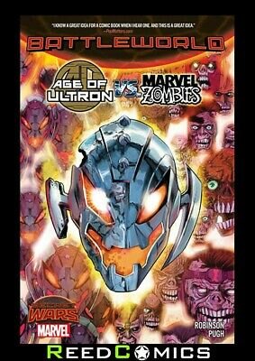 AGE OF ULTRON vs MARVEL ZOMBIES GRAPHIC NOVEL New Paperback Collects Issues #1-4