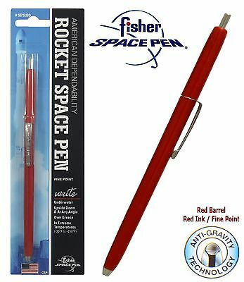 Fisher Space Pens #SPR82 / Red Rocket Pen with Red Ink