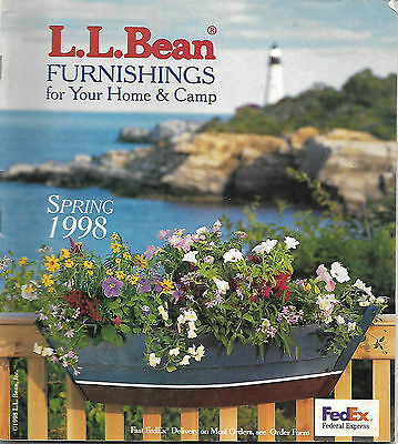 L.l. Bean Catalog Spring 1998 Home And Camp