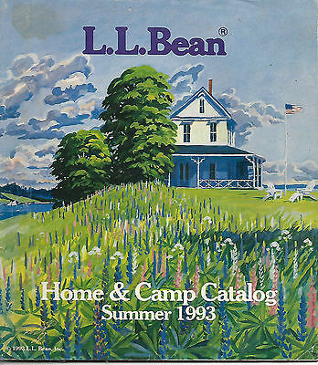 L.l. Bean Catalog Spring 1993 Home And Camp