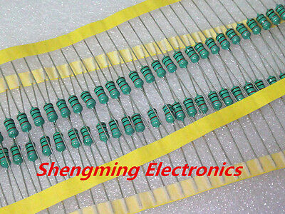 50PCS 0410 Color Ring Inductance 100uH 0.5W Axial RF Choke Coil Inductor