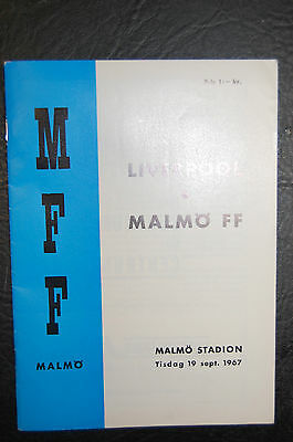 Ff Malmo V Liverpool  1967 Inter Cities Fairs Cup