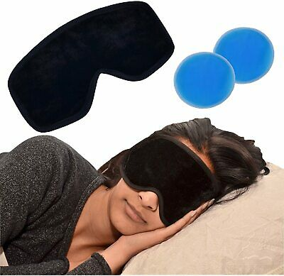 Magnetic Gel Eye Mask - Soothing Stress Circles Migraine Headache Relief Tired