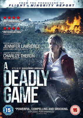 A Deadly Game DVD (2015) Charlize Theron, Arriaga (DIR) cert 15 Amazing Value