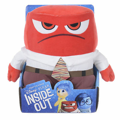 """Disney - Inside Out Anger Plush 10"""" - Official Kids Plush Toy - FREE Delivery!"""