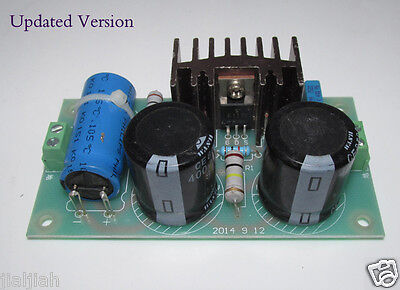 Tube Preamp/ Amplifier High Voltage FET AC Noise Electronic Filter Board 400V 2A