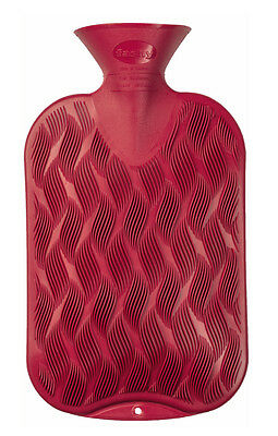 Fashy Single Ribbed 2.0L Hot Water Bottle