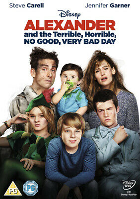 Alexander and the Terrible, Horrible, No Good, Very Bad Day DVD (2015) Steve