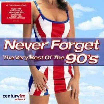 Various Artists : Never Forget - The Very Best of the 90's CD 2 discs (2004)