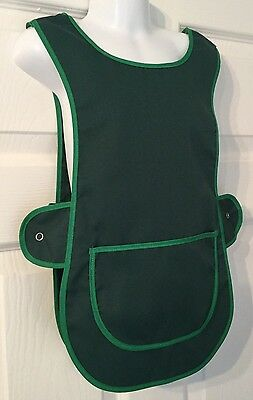 Brand New Choose Size Childrens Kids Tabard Apron Kids Green Cooking Arts