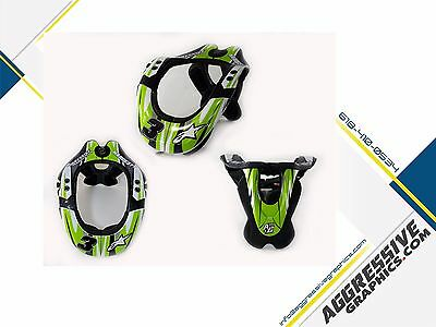 AG // Decal Kit Alpinestars BNS Pro Neck Support