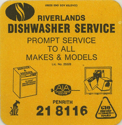 Coaster: Riverlands Dishwasher Service, Penrith.