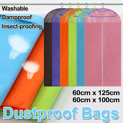 Garment Cover Storage Bag Dustproof Dress Suit Clothes Coat Jacket Protector