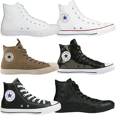 Converse Chuck Taylor All Star Leather Schuhe High-Top Sneaker Leder
