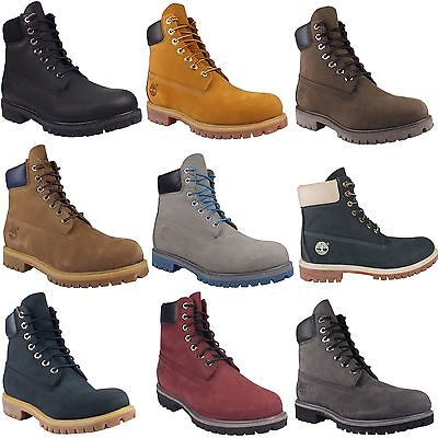 Timberland 6-Inch Premium Waterproof Boot Chaussures Bottes Hiver Cuir Hommes
