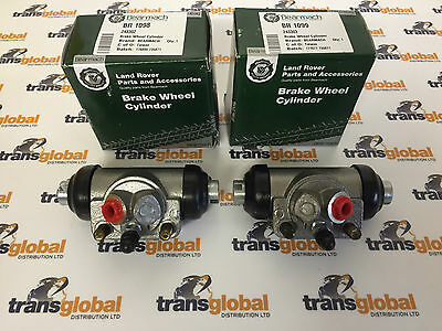 Land Rover Series 2 & 3 SWB Left & Right Rear Wheel Cylinders >1980 Bearmach