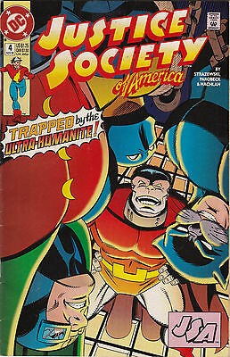 DC Comics! Justice Society of America! Issue 4!