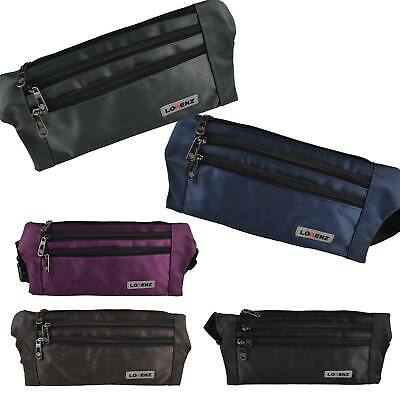Mens Ladies Nylon Security Belt by Lorenz Strong Hard Wearing Money Pouch