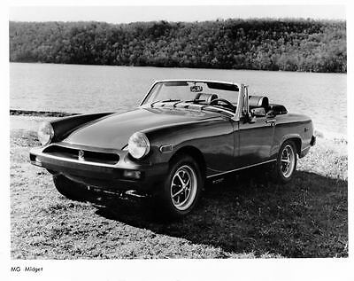 1976 MG Midget Automobile Photo Poster zua3900-YEZHYD