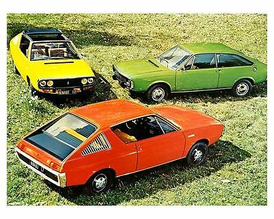 1972 Renault 15 & 16 & 17 Automobile Photo Poster zua5291-KAWJPW
