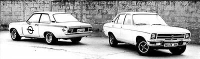 1972 Opel Competition Ascona & Ascona 19 FAutomobile Photo Poster zua5295-LUVRDR