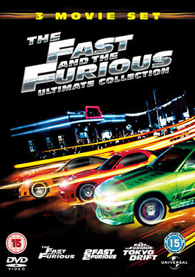 The Fast and the Furious Ultimate Collection DVD (2006) Paul Walker, Cohen