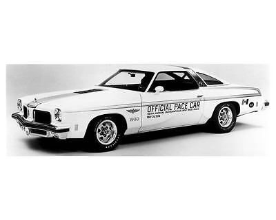 1974 Hurst Oldsmobile Indy 500 Pace Car Photo Poster zua5769-UCT5I1