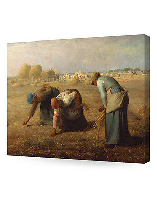 DecorArts The Gleaners Jean-Francois Millet Art ReproductionGiclee Canvas
