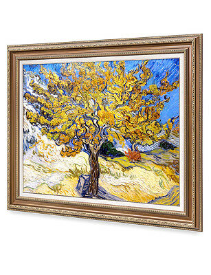 DecorArts The Mulberry Tree VanGogh Reproduction Giclee Print& Framed Art