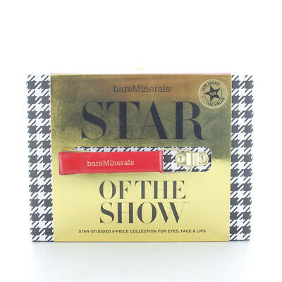Bareminerals Star of the Show 8pc Collection for Eyes, Face & Lips New In Box